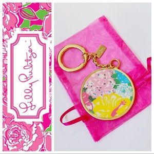 Lilly Pulitzer Heritage Floral Keychain
